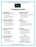 21 Happiness Habits